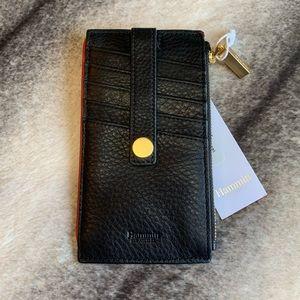 { Hammitt } 210 West Card Case Leather Wallet